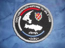 Ecusson Patch Tissu Clémenceau Police Judiciaire Antenne PJ Du Val D'OIse Cergy - Police & Gendarmerie