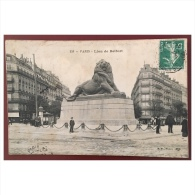 Paris  Lion De Belfort  155 BF Paris - Statues