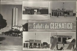CESENATICO(FORLI-CESENA) VEDUTINE DEI BAGNI-FG - Forlì
