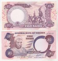 Nigeria 5 Naira 2002 Uncirculated - Nigeria