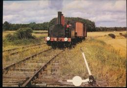 Train Touristique De La Seudre -- Locomotive Schneider Et Cie De 1891 -- Saujon - La Tramblade - Eisenbahnen