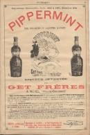 Pippermint/Get Fréres/REVEL / Haute Garonne/Encart Publicitaire/Annuaire Didot-Bottin/1905     ILL68 - Food