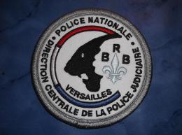 Ecusson Patch Tissu Clémenceau Police Judiciaire BRB De Versailles Couleurs - Police & Gendarmerie