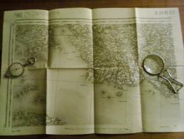 LORIENT  ..  Carte Topographique De 1889 N° 88/1 - Topographical Maps