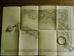 LORIENT  .S.E.  Carte Topographique De 1889 N° 88/4 - Topographical Maps