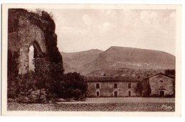 Cpa    Beauvoir En Royans   Les Ruines De La Chapelle Delphinale  (XIIIè S.) Et Le Couvent Des Carmes Musée     TBE - France