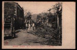St Denis - Rue De L'Eglise Après Le Cyclone Du 21-22 Mars 1904 - Saint Denis