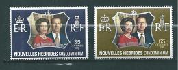 Colonies Francaise  Nouvelles Hébrides De 1972  N°354/55  Neuf Petite Charnière - Nuovi