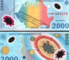 Romania #111a, 2.000 Lei, 1999, UNC / NEUF - Rumänien