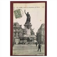 Paris   Statue De La République Par Morice  JH - Statues