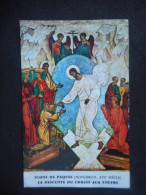 """IMAGE Pieuse """"Icône De Pâques La Descente Du Christ Aux Enfers"""" PIRERE POUT L'UNITE CHRETIENNE - Saisons & Fêtes"""