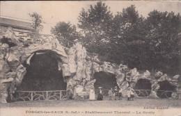 Cp , 76 , FORGES-les-EAUX , Établissement Thermal , La Grotte - Forges Les Eaux