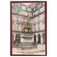 Paris  Statue De Jeanne D´ Arc  Place Des Pyramides  443 - Statues
