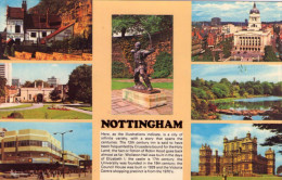 CPSM:  NOTTINGHAM  (angleterre):   Multivues.    (A 3811) - Northamptonshire