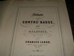 METHODE DE CONTRE-BASSE - Musique & Instruments