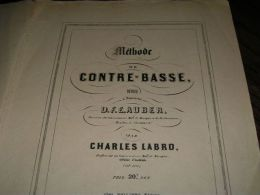 METHODE DE CONTRE-BASSE - Music & Instruments