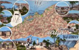 CPA:  Souvenir D'Algérie , Dépt. D'Oran (algérie):      (A 3815) - Oran