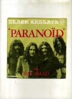 - BLACK SABBATH . 45 T. PARANOÏD  . - Hard Rock & Metal