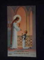 """IMAGE COMMUNION """"Marcel BATTAS - Eglise St Nicolas LES ALLUETS LE ROI - 1952"""" -BOUMARD P C S 845) - Saisons & Fêtes"""