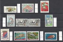 Madagascar  N° Divers  Nf**/obl.  Faune . - Madagascar (1960-...)