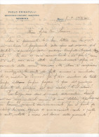 PAOLO CRISAFULLI - DRAPPERIE INGLESI SARTORIA - MESSINA - DATATA ANNO 1934 - Italia