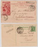 Ca. 1900 - 1910, 4 Klare Stations-L1  , #5153 - Bahnwesen
