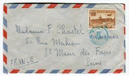 Enveloppe De Moca Pour La France En 1948  Réf. 644 - Dominicaine (République)