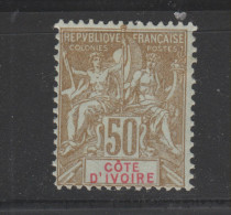 Yvert 17 * Neuf Avec Charnière - Ivory Coast (1892-1944)