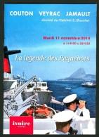 """""""LA LEGENDE DES PAQUEBOTS"""" - CATALOGUE DE VENTE AUX ENCHERES NANTES 2014 - Boats"""