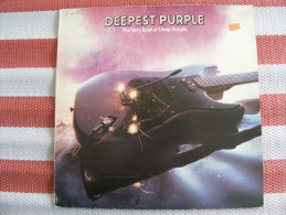 MUSIQUE - VINYL 33 TOURS - DEEP PURPLE - DEEPEST PURPLE - LP - EMI PM 251 / 2C 068 63928 - BON ETAT - Vinyles