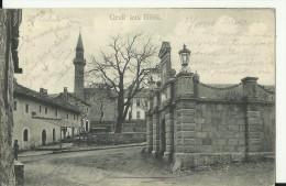 BiH1310   --   GRUSS AUS  BILEK  ( BILECA )  --  WITH MOSCHEE  --  1906   --  2 X SCAN - Bosnien-Herzegowina