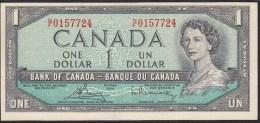 Canada 1 Dollar 1954 P75c UNC - Canada