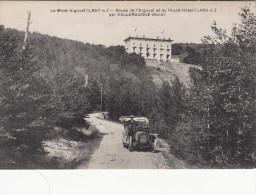 CPA Le Mont Aigoual, Route De L'Aigoual Et Du Grand Hôtel Par Valleraugue (pk29025) - Valleraugue