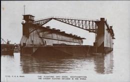 Floating Dry -Dock, Southampton - Ships