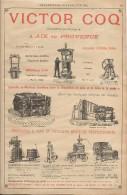 Industrie/Ingénieur Constructeur/Encart Publicitaire/Coq/ Aix En Provence/Annuaire Didot-Bottin/1905  ILL40 - France