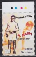 1904 SIERRA LEONE  OLYMPIC HISTORY ** MNH Athlétisme Courir Sauter Lancer Athletics Running Jumping Throwing Leic [BG31]