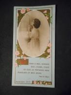 """IMAGE COMMUNION  """"Micheline SIMONNET - Eglise Jeanne-d'Arc VERSAILLES - 1939"""" (BOUASSE XA 811) - Religion & Esotérisme"""