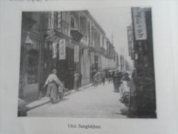 China  SHANGHAI  - Street Scene  - Hungarian Print  CHKOR.266 - Old Paper