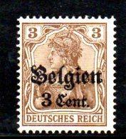 W833 - BELGIO 1916 , Unificato N. 11  ***  MNH - Occupazione 1914 – 18