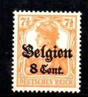 W800 - BELGIO 1916 , Unificato N. 13  ***  MNH - Occupazione 1914 – 18