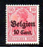 W844 - BELGIO 1916 , Unificato N. 14  ***  MNH - Occupazione 1914 – 18