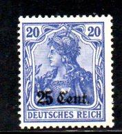 W845 - BELGIO 1916 , Unificato N. 18  ***  MNH - Occupazione 1914 – 18