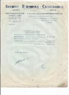 VP.0117/ Société Terminus Carrosserie - Boulogne Billancourt - Bertineau Pont L´Abbé D´Arnoult - Renault 4CV - Automobile