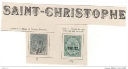 Saint Christophe, Lot Timbres 6,44 Sur Charnière - St.Christopher-Nevis-Anguilla (...-1980)