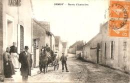 ORMOY LE TABAC SUR LA ROUTE D AUTERIVE ANIMATION AVEC ATTELAGE - Other Municipalities