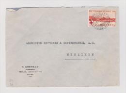 Heimat Bahnlinie Lausanne-Bercher 1939-12-04 L18 Auf Brief Nach Menziken - Suisse