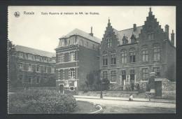 CPA - ROEULX - Ecole Moyenne Et Maisons De MM. Les Vicaires - Nels  // - Le Roeulx