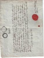 XOB82 ÖSTERREICH 1899 TAUFSCHEIN  Zwei Mal Gefaltet Doppelte Größe SIEHE ABBILDUNG - Historische Dokumente