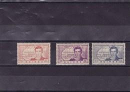 GUINEE : René Caillié : Y&T : 148 à 150** - Unused Stamps