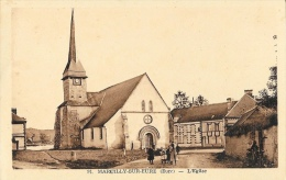 Marcilly-sur-Eure (Eure) - L'Eglise - Edition M. Aube - Marcilly-sur-Eure